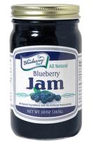 10 ounce blueberry jam jar