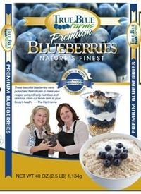 True Blue Farms Frozen Blueberries Retail Bag Image